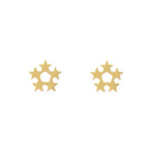 Load image into Gallery viewer, Star Wreath Stud Earrings