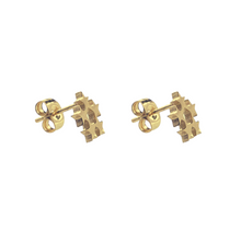 Lade das Bild in den Galerie-Viewer, Star Wreath Stud Earrings