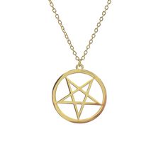 Load image into Gallery viewer, Pentagram Necklace