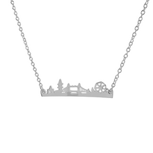 Load image into Gallery viewer, London Skyline Necklace