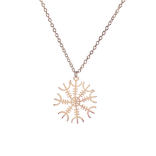 Load image into Gallery viewer, Snowflake Necklace