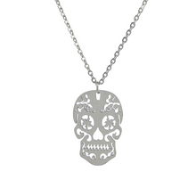 Lade das Bild in den Galerie-Viewer, Sugar Skull Necklace