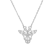 Load image into Gallery viewer, Origami Giraffe Necklace