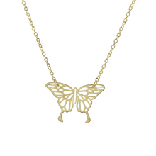Load image into Gallery viewer, Origami Butterfly Necklace