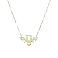 Load image into Gallery viewer, Origami Bee Necklace