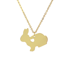 Load image into Gallery viewer, Bunny Love Necklace