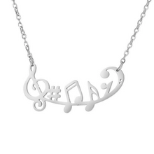Load image into Gallery viewer, Sheet Music Necklace