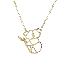 Load image into Gallery viewer, Origami Koala Necklace