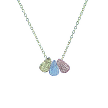 Load image into Gallery viewer, Tricolour Drop Necklace