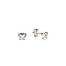 Load image into Gallery viewer, Fly By Butterfly Stud Earrings