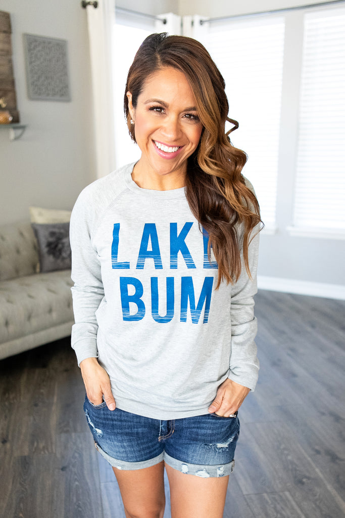 Lake Bum Long Sleeve Tee