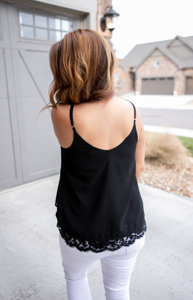 Date Night Lace Tank