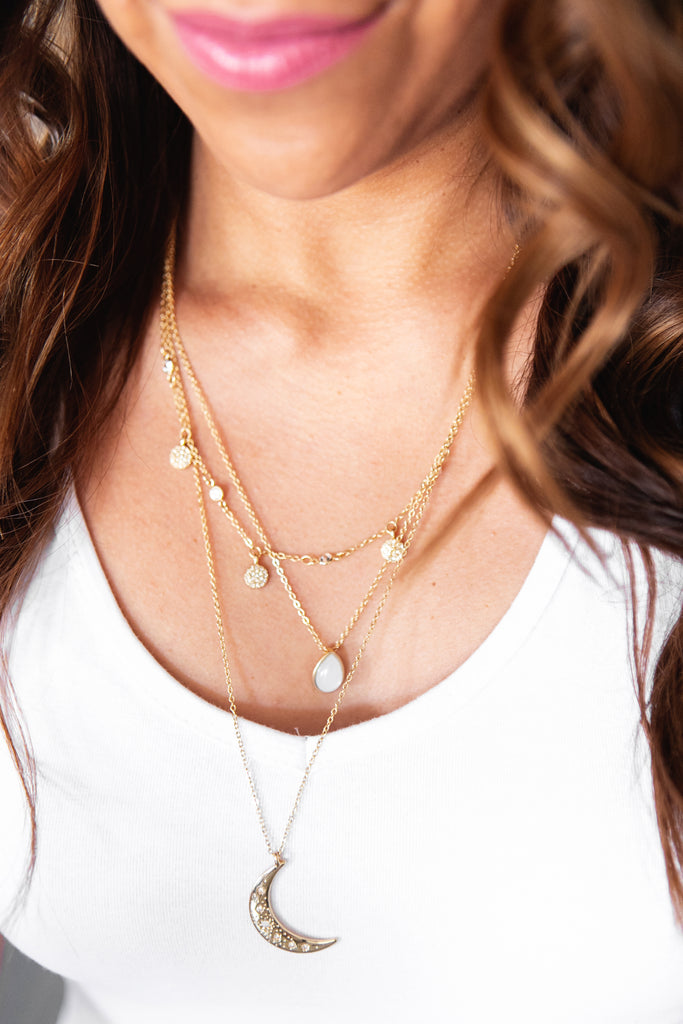 Layered Luna Necklace