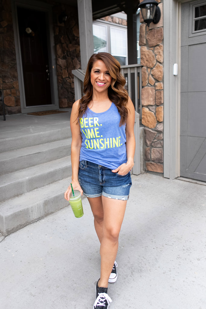 Beer Lime Sunshine Tank