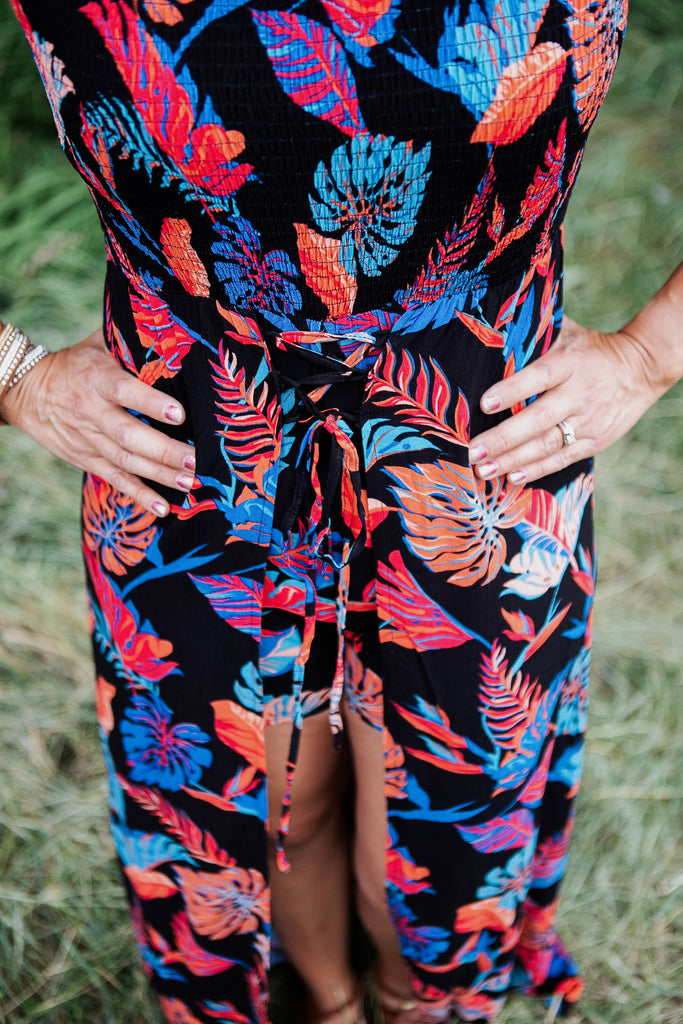 Neon Nights Maxi Romper