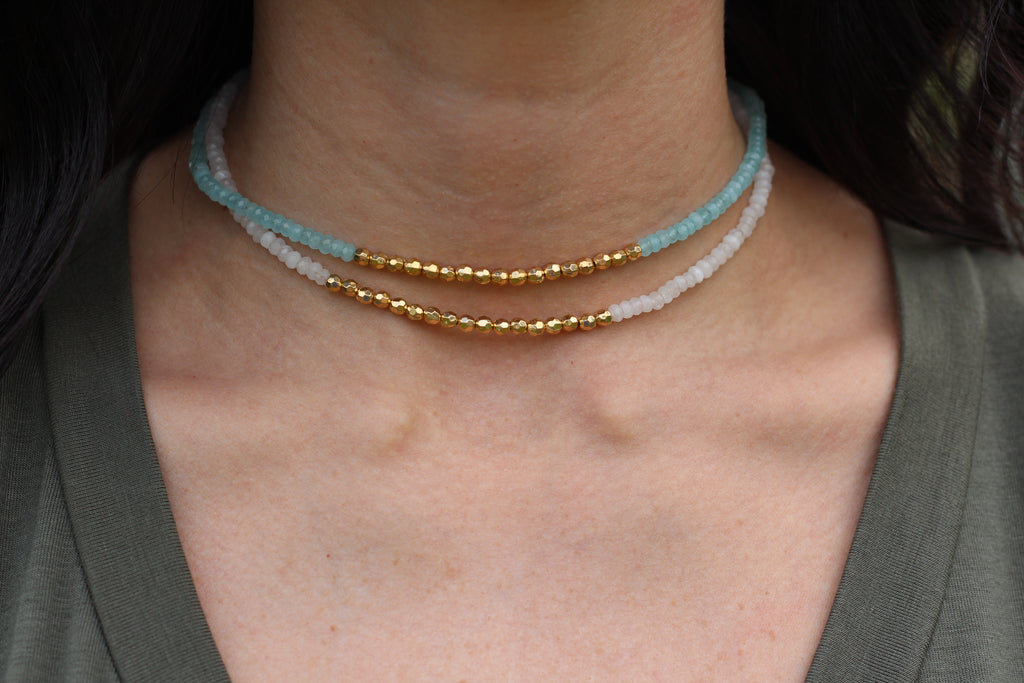 Shira Colorblock Choker