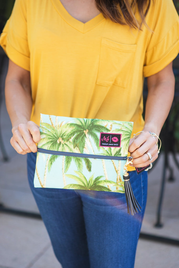 Tropic Makeup Junkie Bag