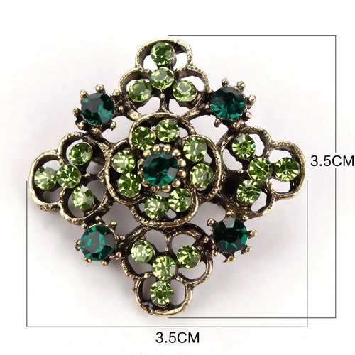 Brooch - Green Gold Bloom Gift Ideas, Gifts, Gifting Made Simple