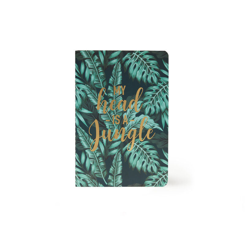 Legami A5 Notebook | Jungle | Unique Gift Ideas for Her | for Mom | for Women | for Females | for Wife | for Sister | for Girlfriend | for Grandma | for Friends | for Birthday | Gifting Made Simple | Unique Gift Ideas for Him | for Dad | for Men | for Males | for Husband | for Brother | for Boyfriend | for Grandad