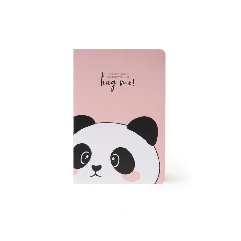 Legami A5 Notebook | Panda | Unique Gift Ideas for Her | for Mom | for Women | for Females | for Wife | for Sister | for Girlfriend | for Grandma | for Friends | for Birthday | Gifting Made Simple | Unique Gift Ideas for Him | for Dad | for Men | for Males | for Husband | for Brother | for Boyfriend | for Grandad