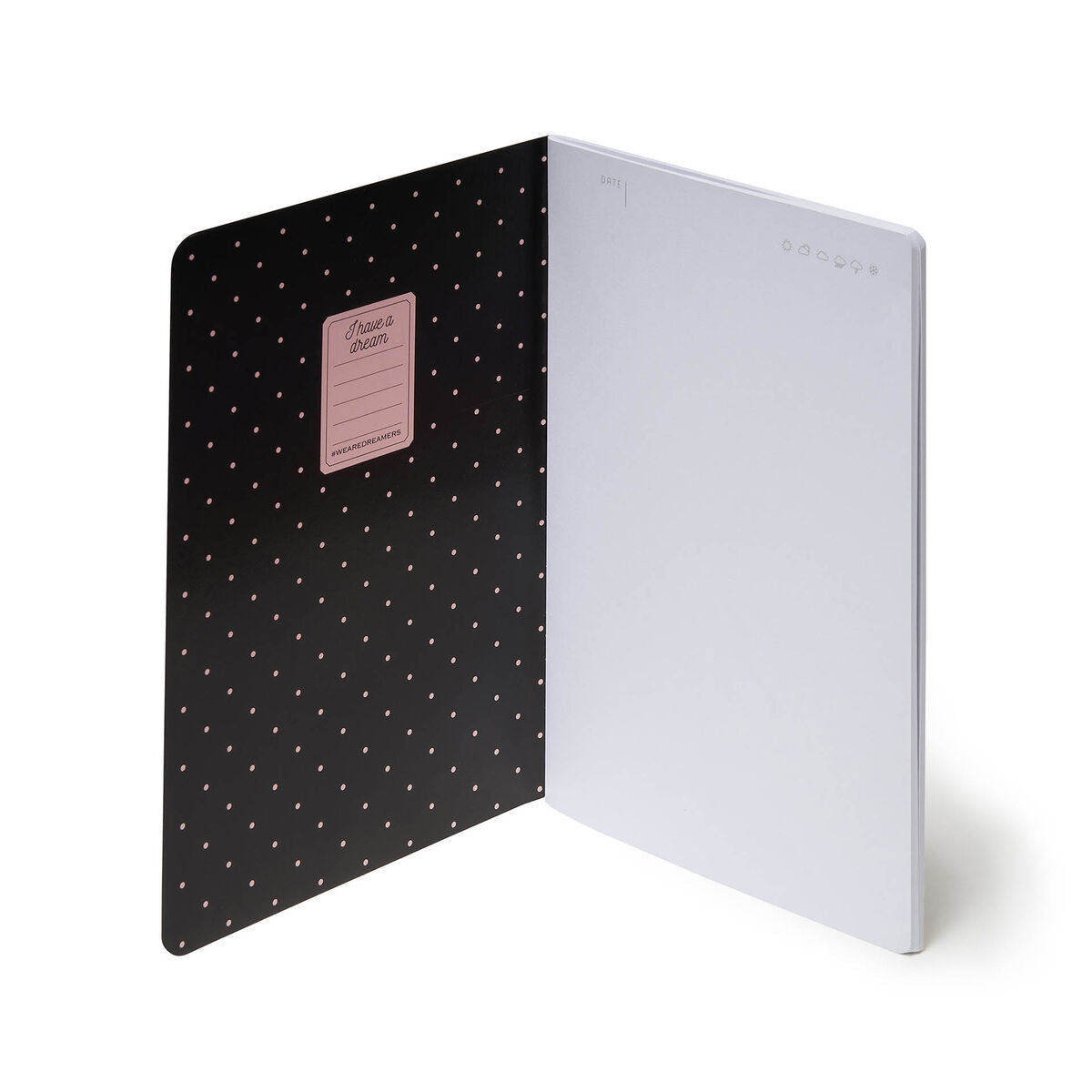 Legami A5 Notebook | Panda Open | Unique Gift Ideas for Her | for Mom | for Women | for Females | for Wife | for Sister | for Girlfriend | for Grandma | for Friends | for Birthday | Gifting Made Simple | Unique Gift Ideas for Him | for Dad | for Men | for Males | for Husband | for Brother | for Boyfriend | for Grandad