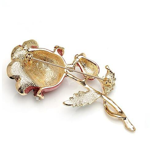 Luxury Rose Brooch