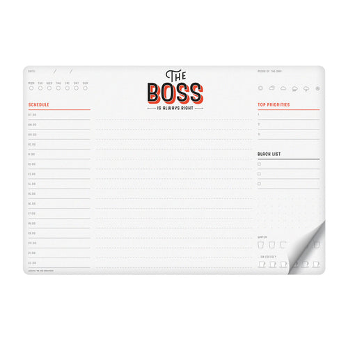 Legami Smart Notes | Boss | Unique Gift Ideas for Her | for Mom | for Women | for Females | for Wife | for Sister | for Girlfriend | for Grandma | for Friends | for Birthday | Gifting Made Simple
