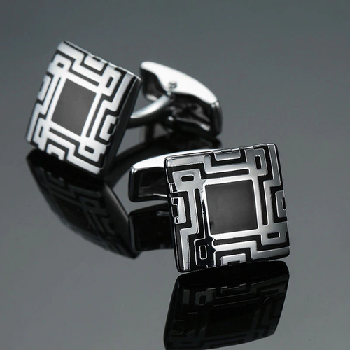 Cufflinks South Africa | Classic | Square Code | Unique Gift Ideas for Him | for Dad | for Men | for Males | for Husband | for Brother | for Boyfriend | for Grandad | for Friends | for Birthday | Gifting Made Simple