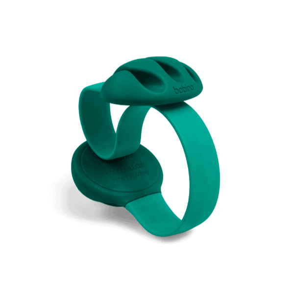 Bobino Desk Cable Clip | Emerald | Desk Gadgets | Unique Gift Ideas for Him | for Dad | for Men | for Males | for Husband | for Brother | for Boyfriend | for Grandad | for Friends | for Birthday | Gifting Made Simple