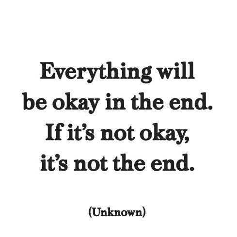 Quotable Everything will be okay card Gift Ideas Gifting Gift Shop