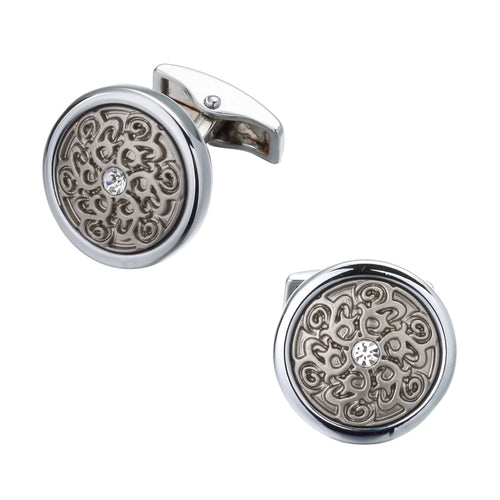 cufflink round laser gifts gift ideas gifting made simple