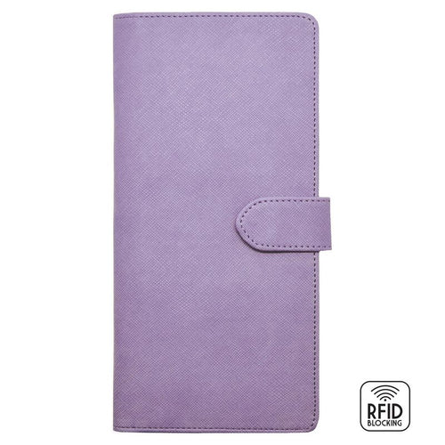 Legami Travel Organiser | Lilac Front | Unique Gift Ideas for Her | for Mom | for Women | for Females | for Wife | for Sister | for Girlfriend | for Grandma | for Friends | for Birthday | Gifting Made Simple