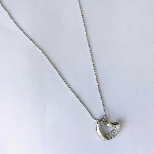 Metallic Mermaid | Twisted Heart Necklace | Unique Gift Ideas for Her | for Mom | for Women | for Females | for Wife | for Sister | for Girlfriend | for Grandma | for Friends | for Birthday | Gifting Made Simple
