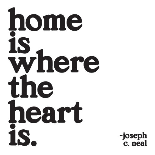 Quotable Home Is Where The Heart Is Card Gift ideas Gifting Gift shop