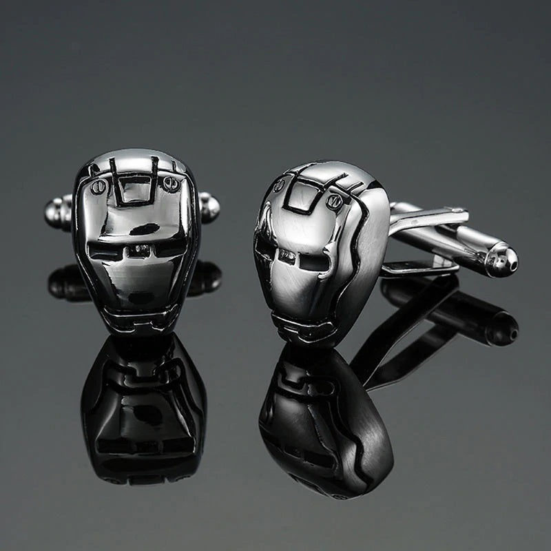 Cufflinks South Africa | Novelty | Iron Man | Unique Gift Ideas for Him | for Dad | for Men | for Males | for Husband | for Brother | for Boyfriend | for Grandad | for Friends | for Birthday | Gifting Made Simple