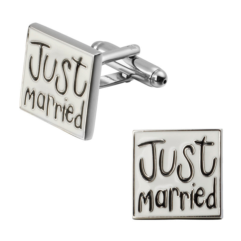 Cufflinks South Africa | Novelty | Just Married | Unique Gift Ideas for Him | for Dad | for Men | for Males | for Husband | for Brother | for Boyfriend | for Grandad | for Friends | for Birthday | Gifting Made Simple