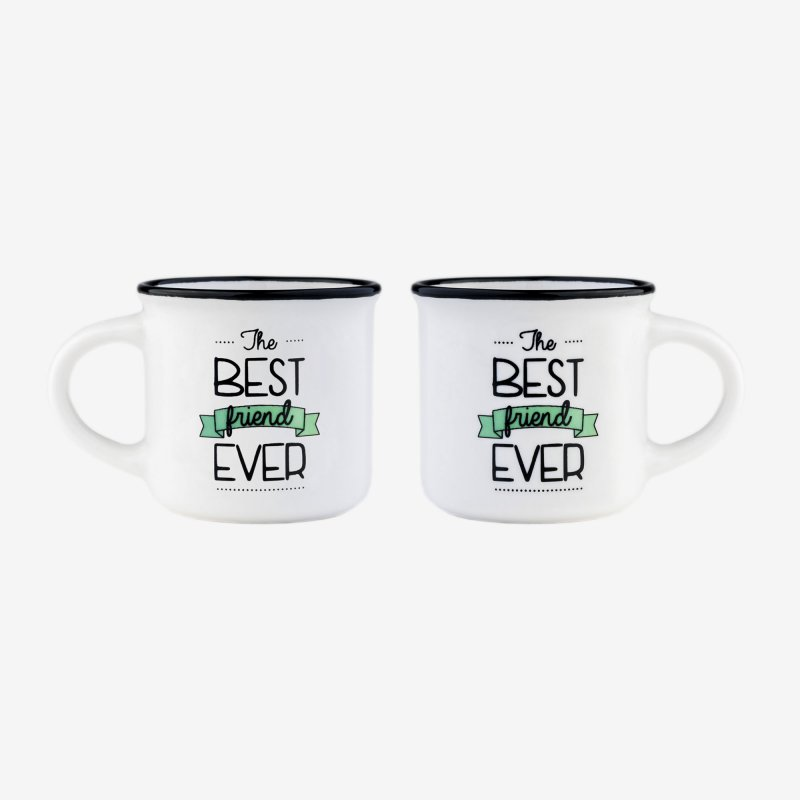 legami Espresso for two coffee mugs best friend gift ideas gifts gifting made simple