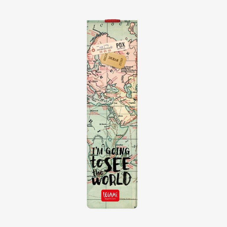 Legami Bookmark - I'm Going to See the World - Gifts Gift Ideas Gifting Made Simple