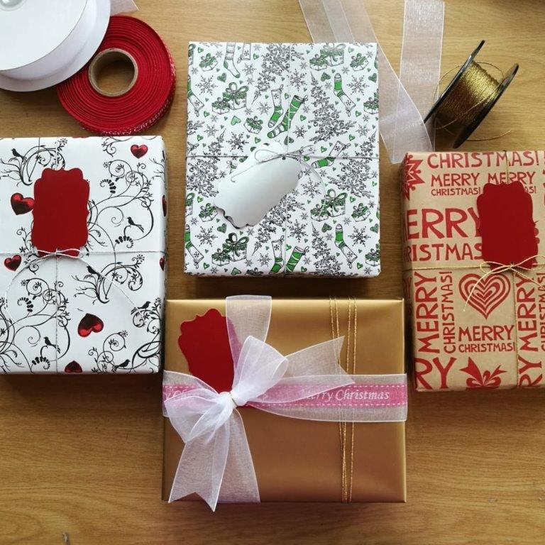 Bespoke Gift Boxes | The Desk Gadget Box | Wrapped | Gift Ideas For Her | For Him | For Women | Gifting Made Simple