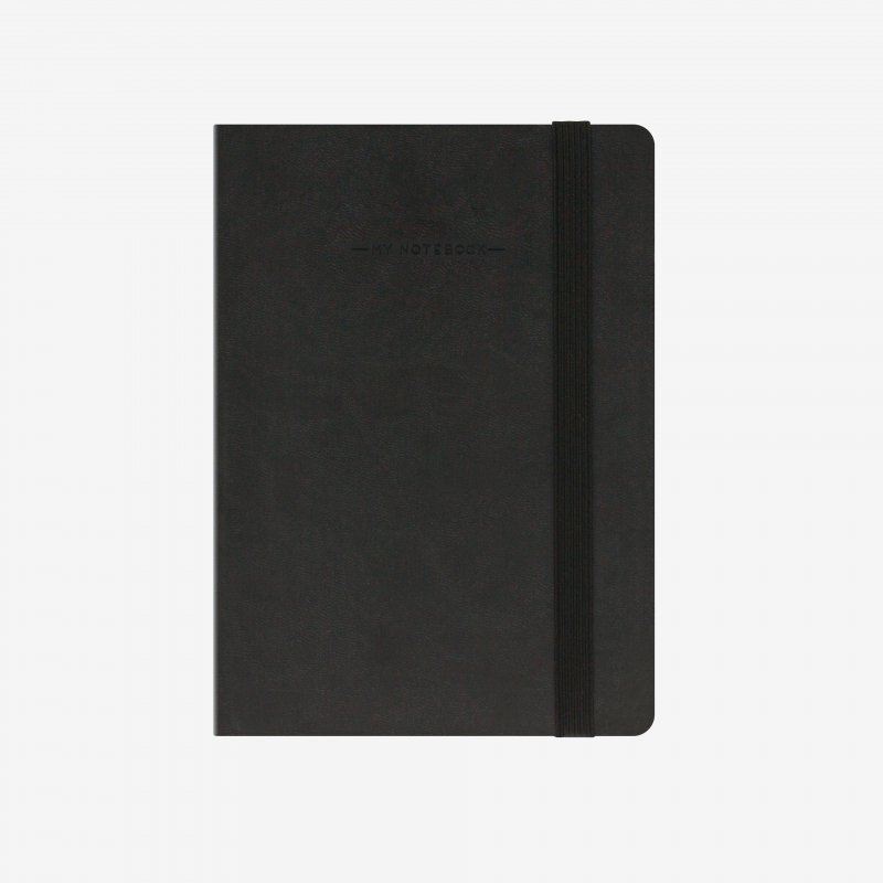 My notebook black front legami gifts gift ideas gifting made simple