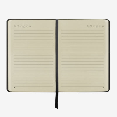 My notebook black middle legami gifts gift ideas gifting made simple