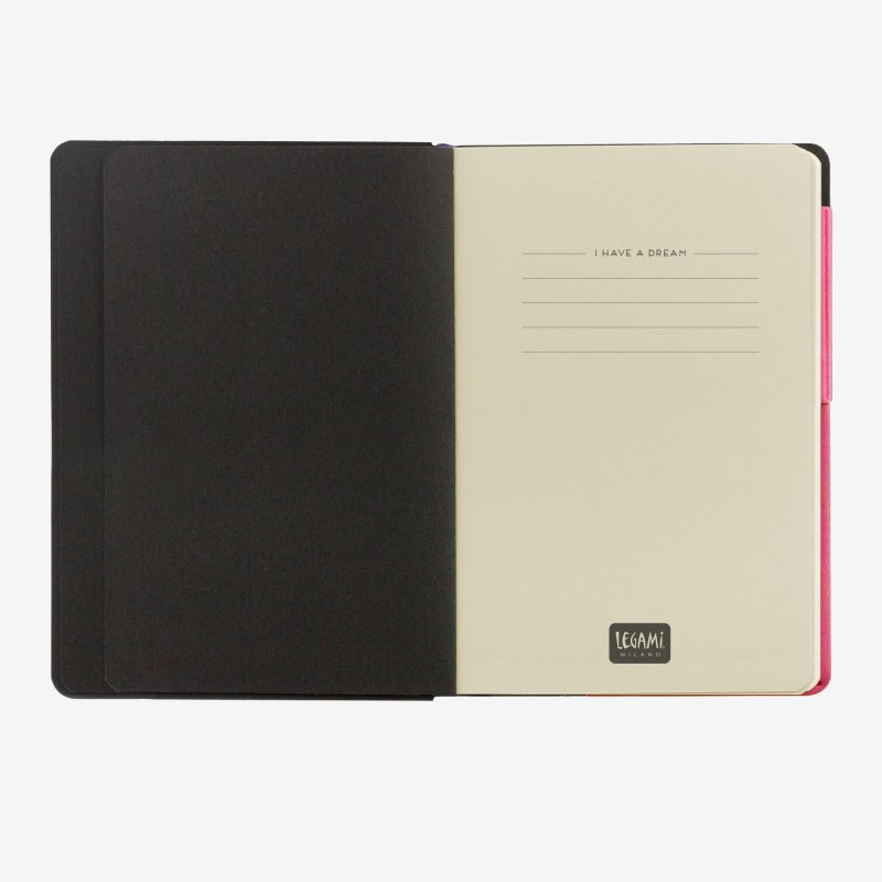 My notebook magenta first page legami gifts gift ideas gifting made simple