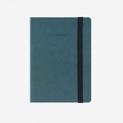 My notebook petrol blue front legami gifts gift ideas gifting made simple