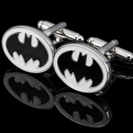 Cufflink Novelty bat 2