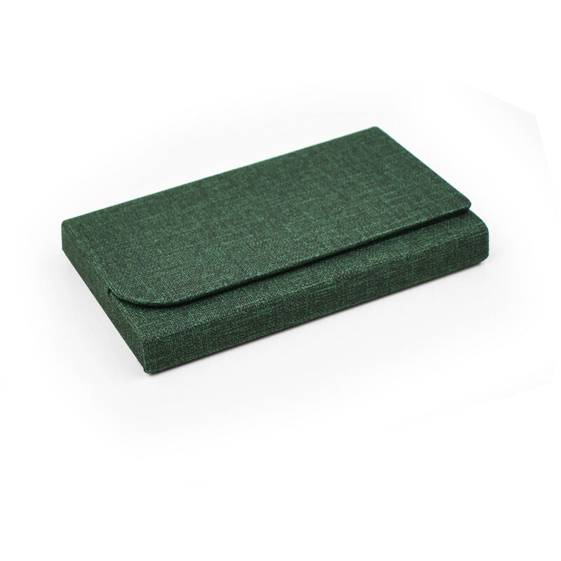 Nice To Meet You - Card Holder - Olive | Gift Ideas For Him | Gifting Made Simple