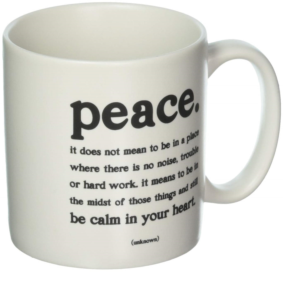 Quotable Peace Mug Gift ideas Gifting Gift shop