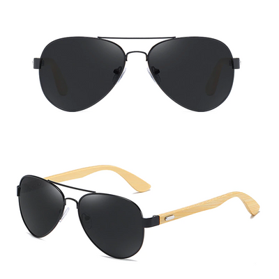 GM Eyewear Bamboo Wood Wooden Sunglasses Shades