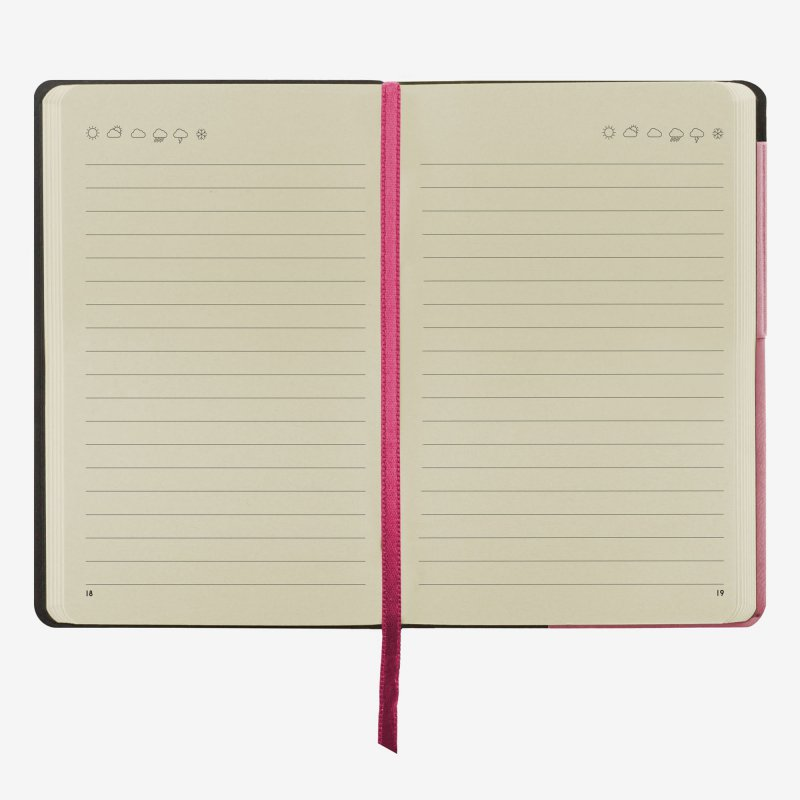 My notebook pink middle legami gifts gift ideas gifting made simple
