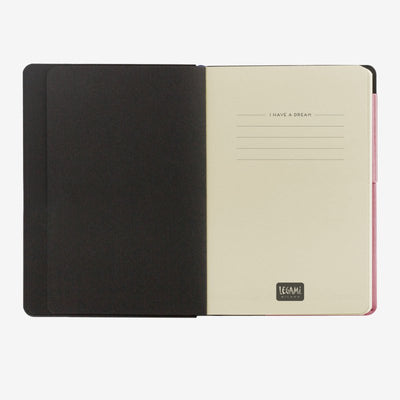 My notebook pink first page legami gifts gift ideas gifting made simple