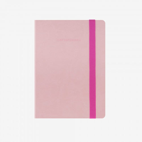 My notebook pink front legami gifts gift ideas gifting made simple